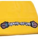 Fucking Awesome Fucking Awesome World Cup Cuff Beanie (Daisy)