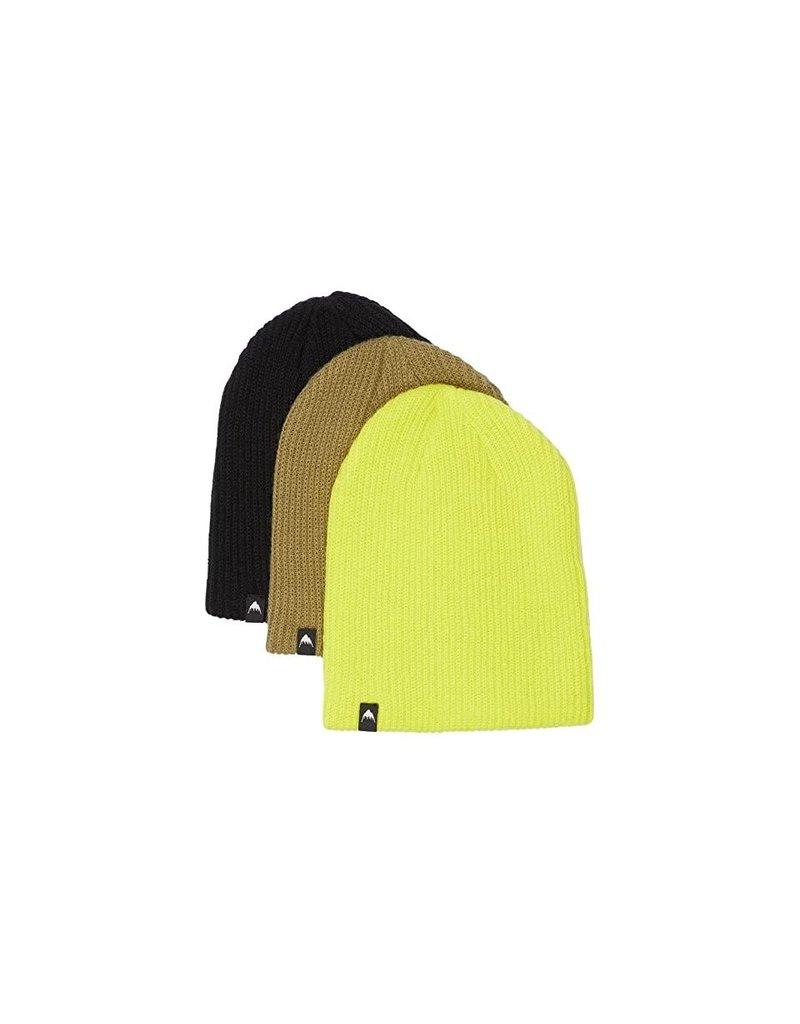 Burton Burton Kids Beanie 3 Pack (True Black/ Martini/ Yellow)
