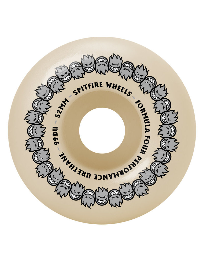 Spitfire Spitfire Formula Four Repeaters Classic 99D Wheels (52mm)