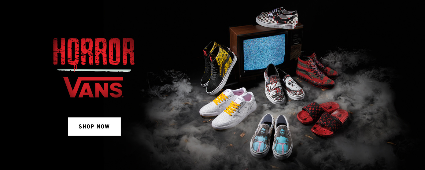 vans shoes House of Terror shoes and clothing