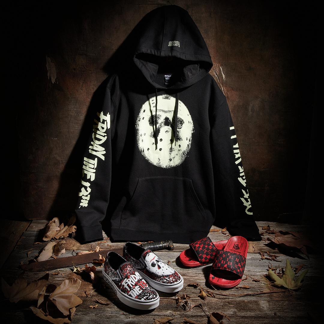 vans Friday the 13th hoodie black glow in the dark canada online