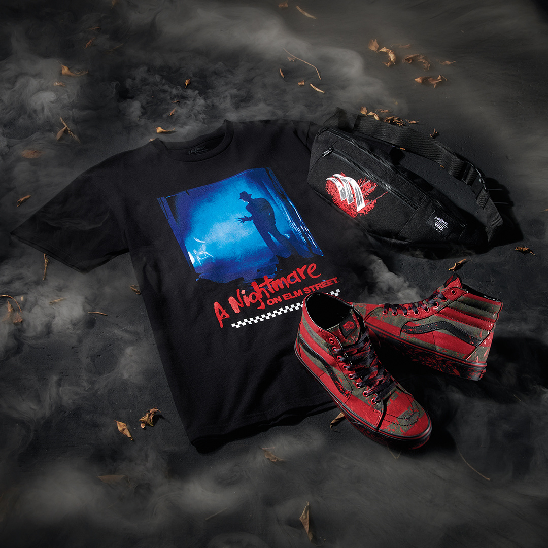 vans shoes nightmare on elm street shoes and t-shirt online canada