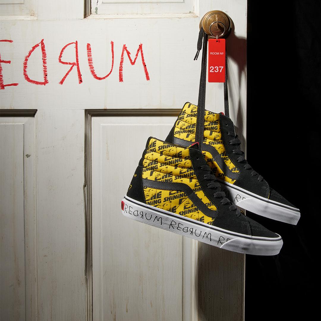 VANS the Shining high top shoes black yellow