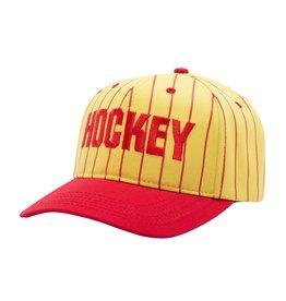 Hockey Hockey Striped Hat  (Yellow/Red)