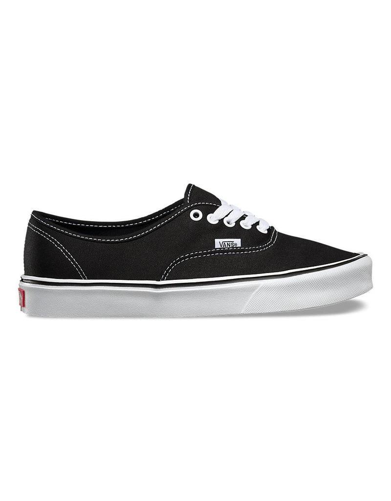 Vans Authentic Lite Shoes Black White Online Canada - Shredz Shop 185c09869596