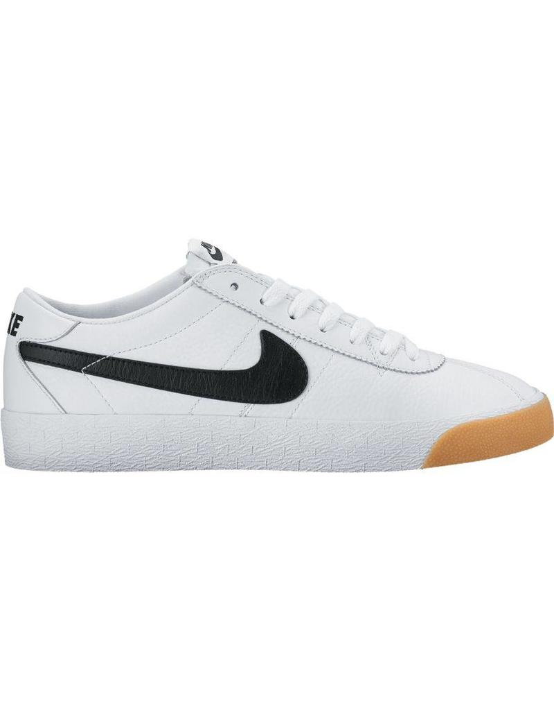 52b5a3dfa33ca Nike SB Bruin SE Premium Shoes White Summit   Black - Shredz Shop