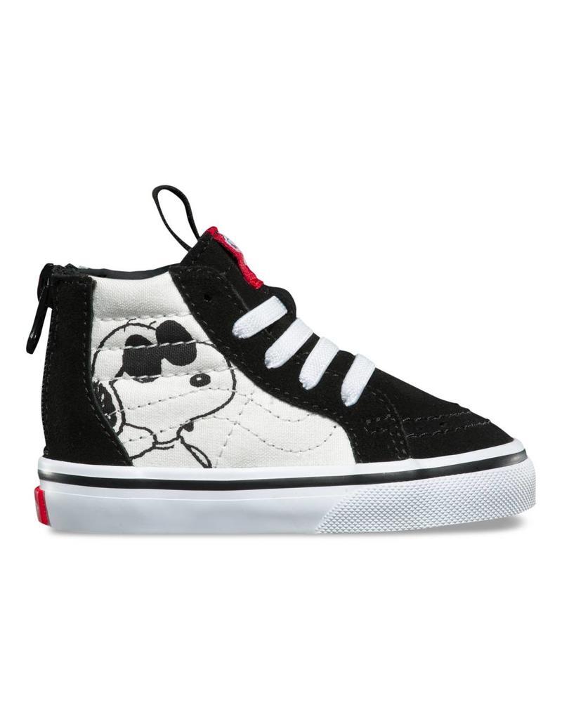 ad31130f5604 Vans x Peanuts Sk8 Hi Zip Shoes (toddlers) - Shredz Shop