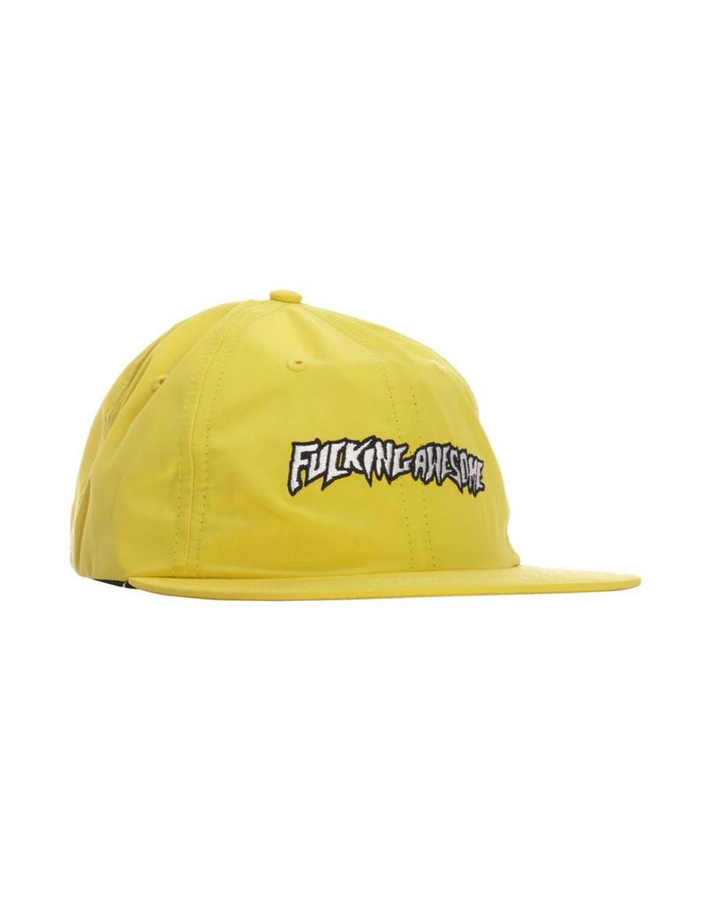Fucking Awesome Fucking Awesome Outline Logo Hat (Yellow)