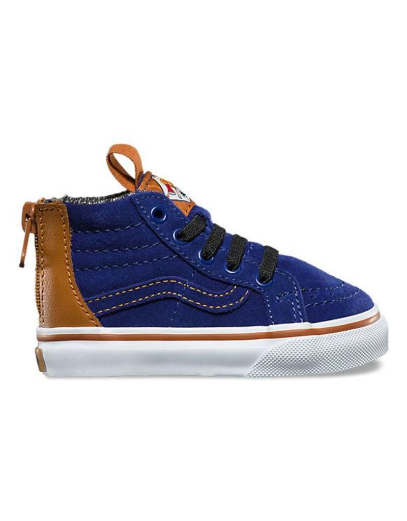 c95ecf545ecc Vans MTE Sk8 Hi Zip Toddler Shoes Blue Depths - Shredz Shop