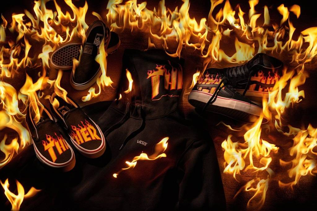 Vans Shoes x Thrasher Magazine Collaboration Comes To Canada