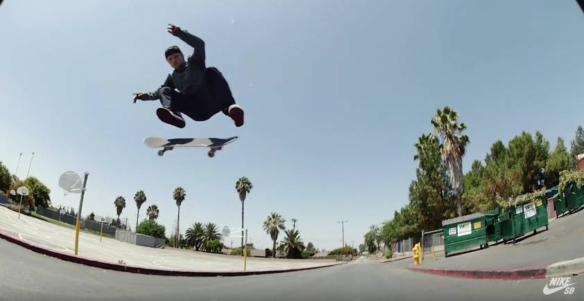 """Shane O'Neill """"Levels"""" Part from Nike SB"""