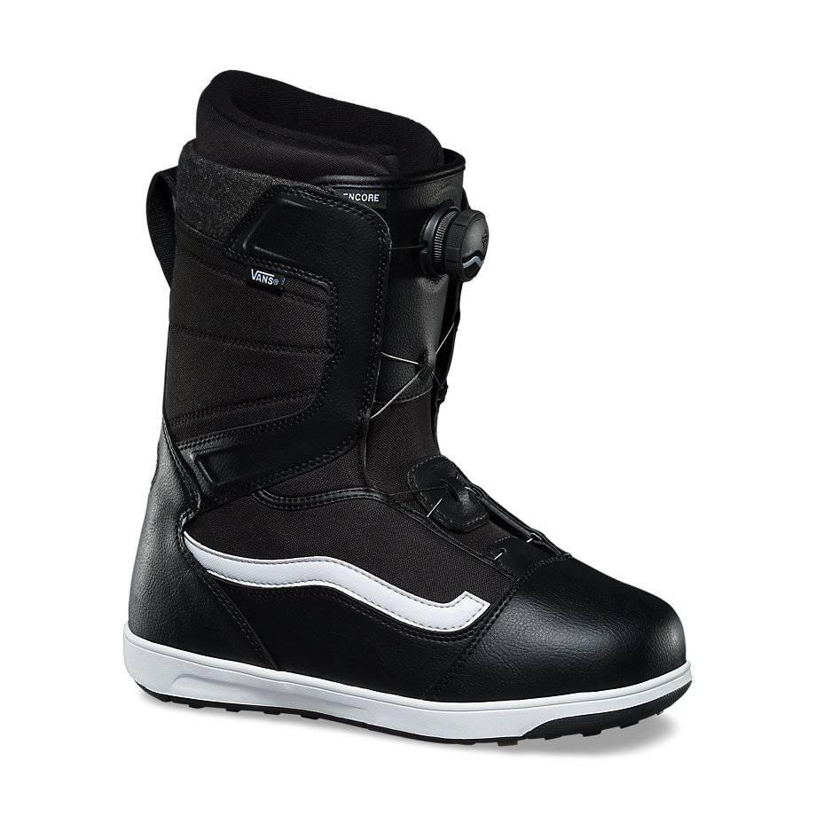 Men's Vans Encore Snowboard Boots In Black/White