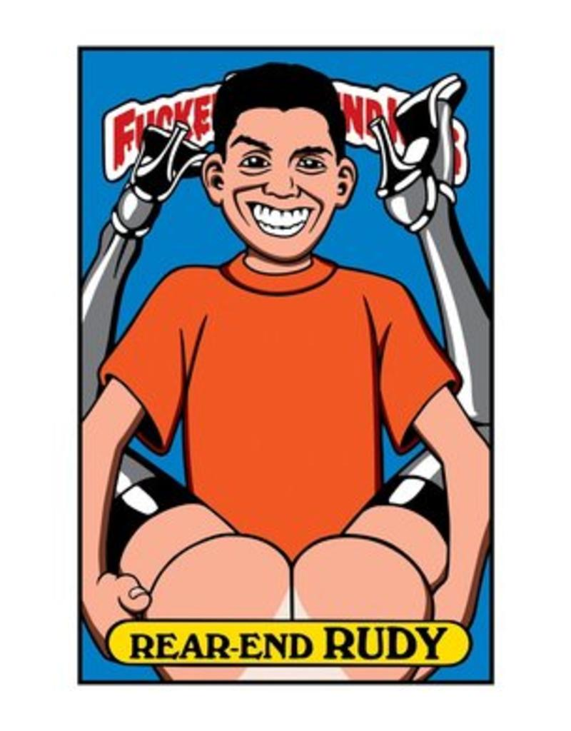 Blind Fucked Up Blind Kids Sticker Pack Rear-End Rudy (10pack)