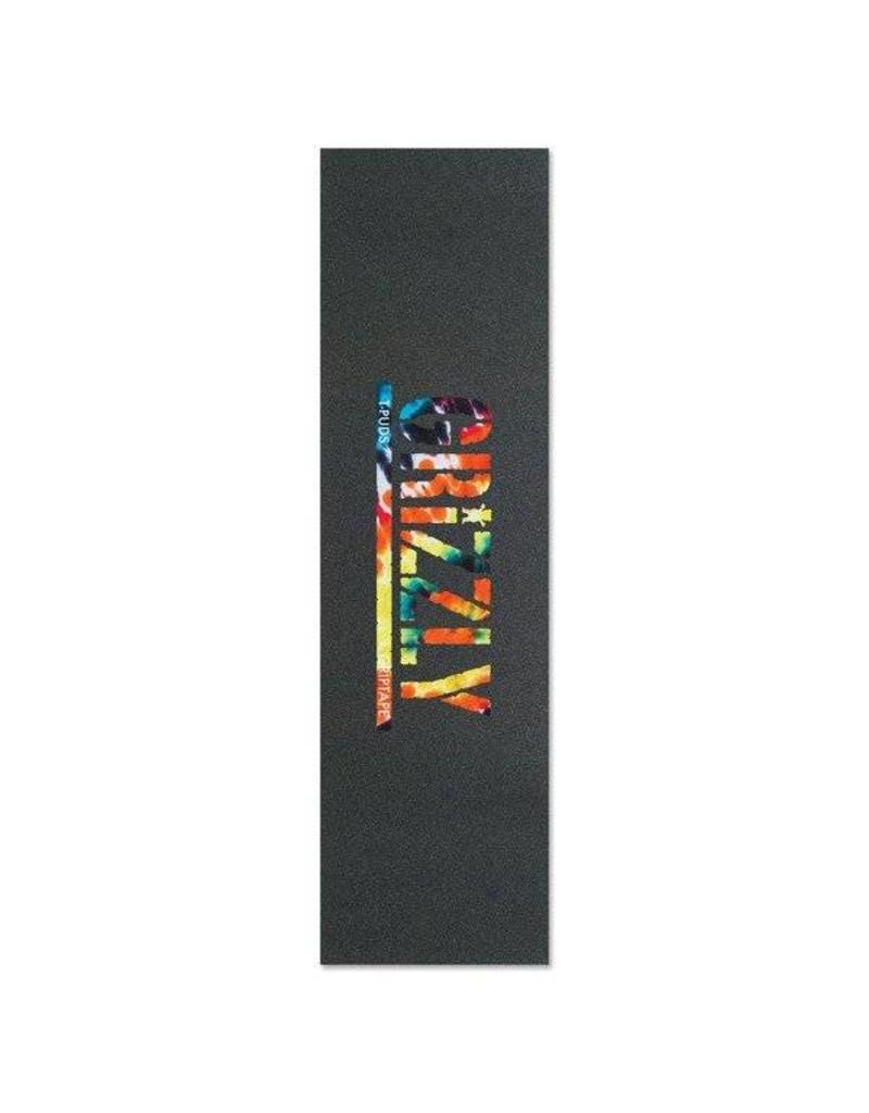 GRIZZLY T-PUDS TIE DYE GRIPTAPE