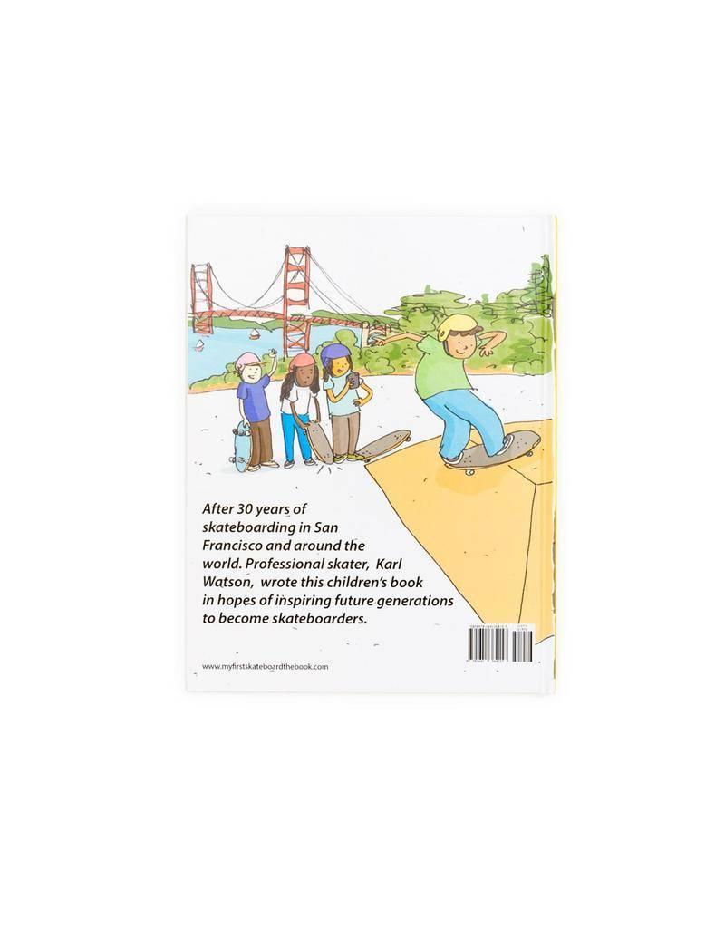 Shredz Karl Watson My First Skateboard Kids Book