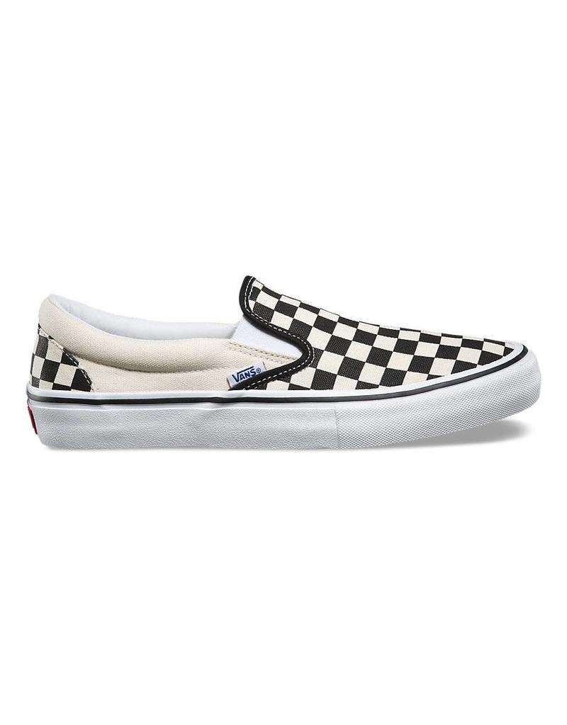 5f2b0b2f6657 Vans Slip On Pro Shoes (black white checkerboard) - Shredz Shop