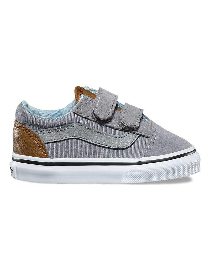 Vans toddler old skool velcro shoes frost grey shredz shop jpg 800x1024 Old  velcro shoes f3611acd8