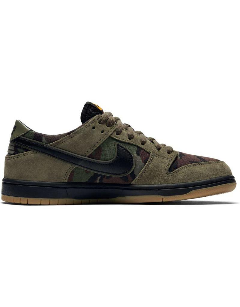 Nike SB Zoom Ishod Dunk Pro Shoes in Medium Olive  Black Gum Light ... 0a7eea684f