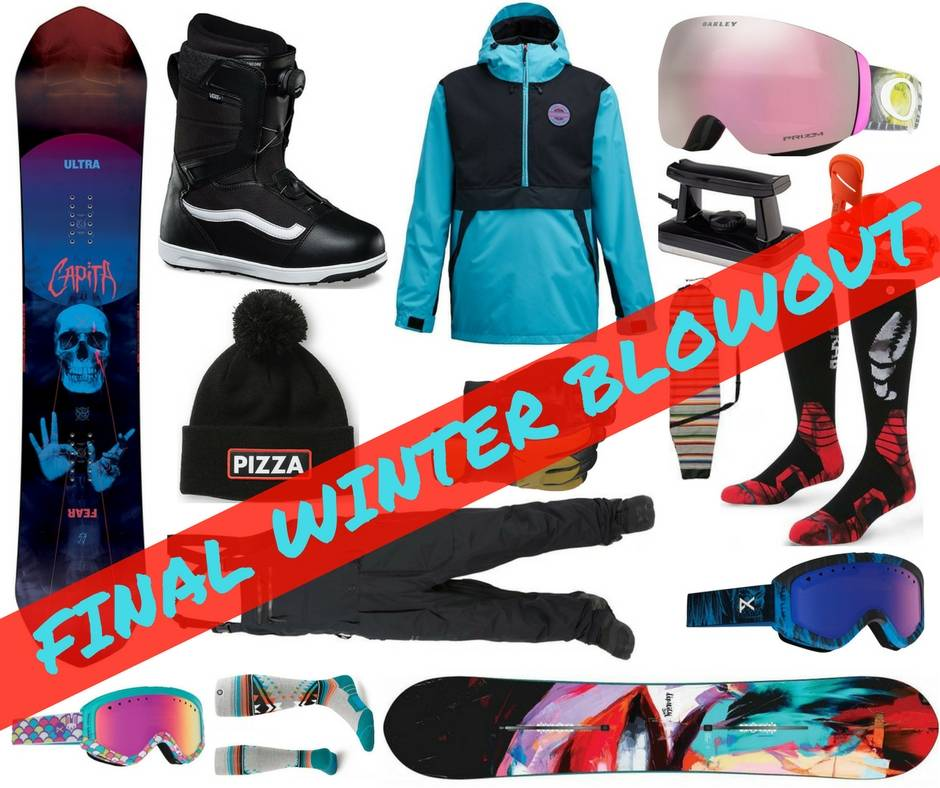Final Winter Blowout Sale