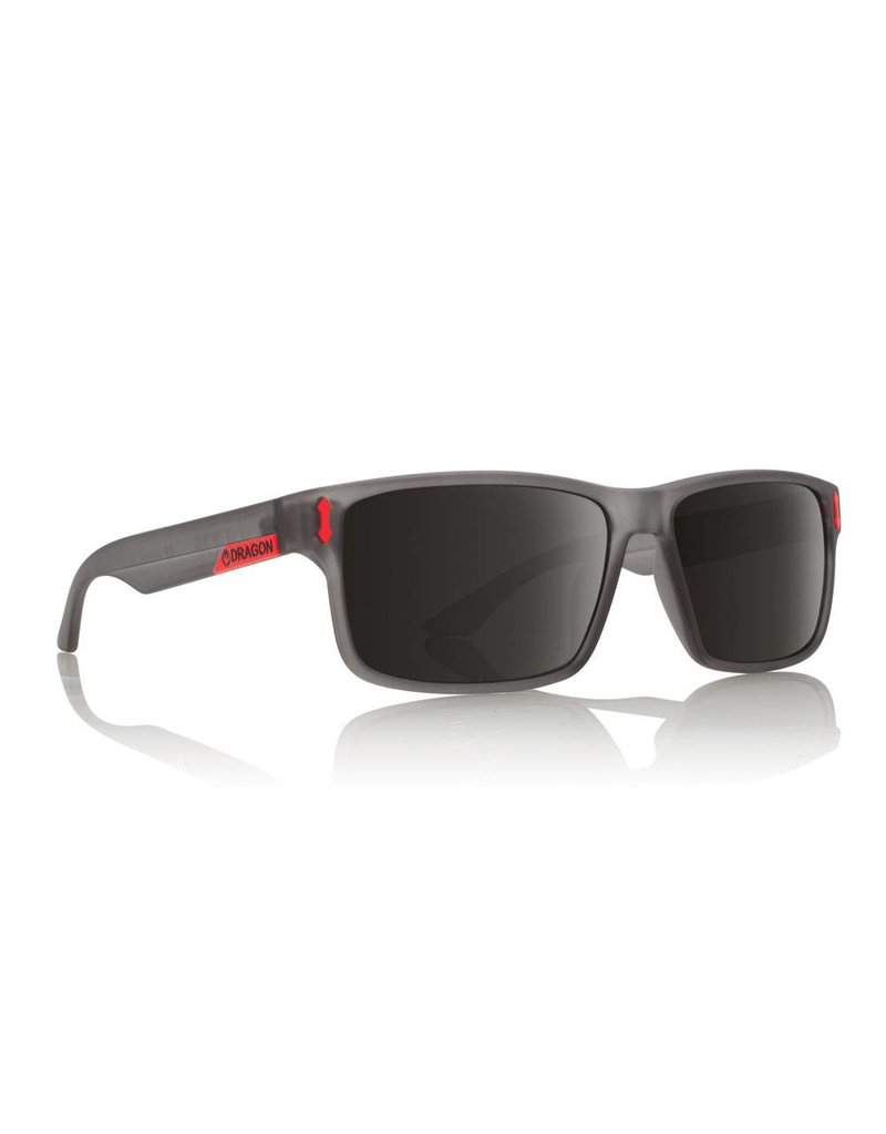 Dragon Count Sunglasses (matte grey/smoke)
