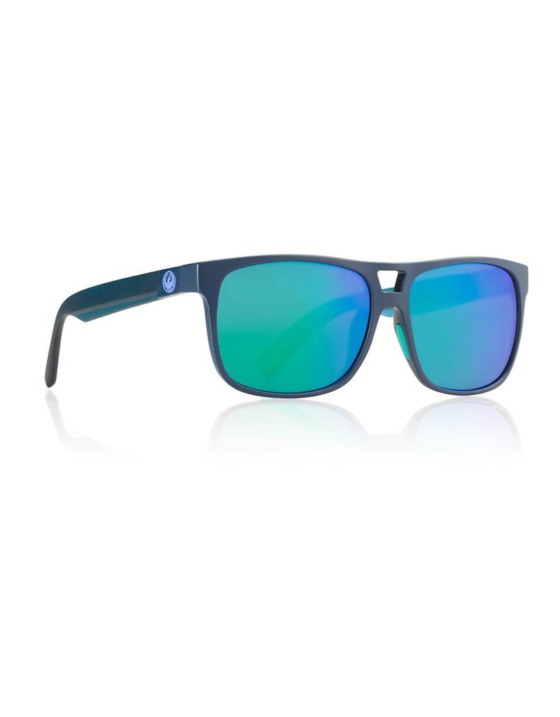 Dragon Roadblock H20 Sunglasses (matte deep navy/green)
