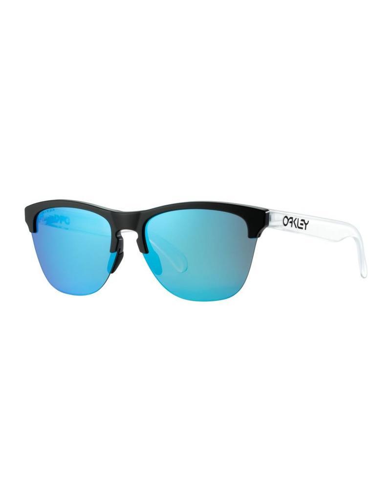 Oakley Frogskins Lite Sunglasses (mtte blk/clr/pizm sapphire)