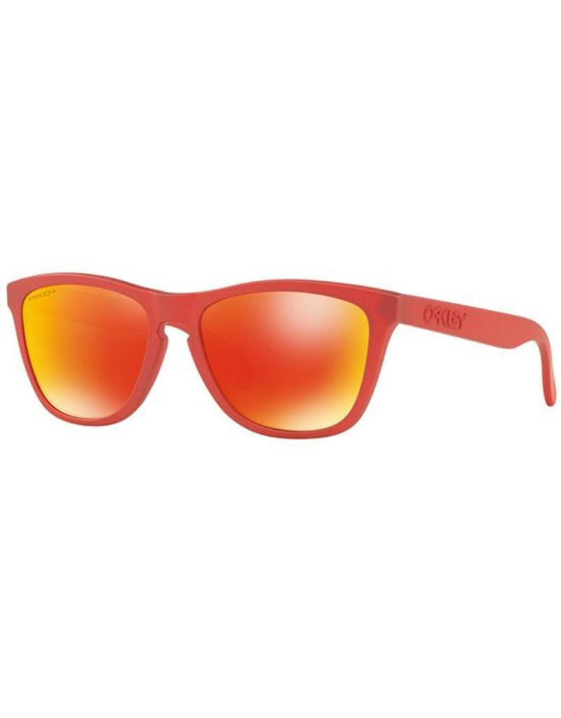 Oakley Frogskins Sunglasses (IR Red/ Prizm Ruby)