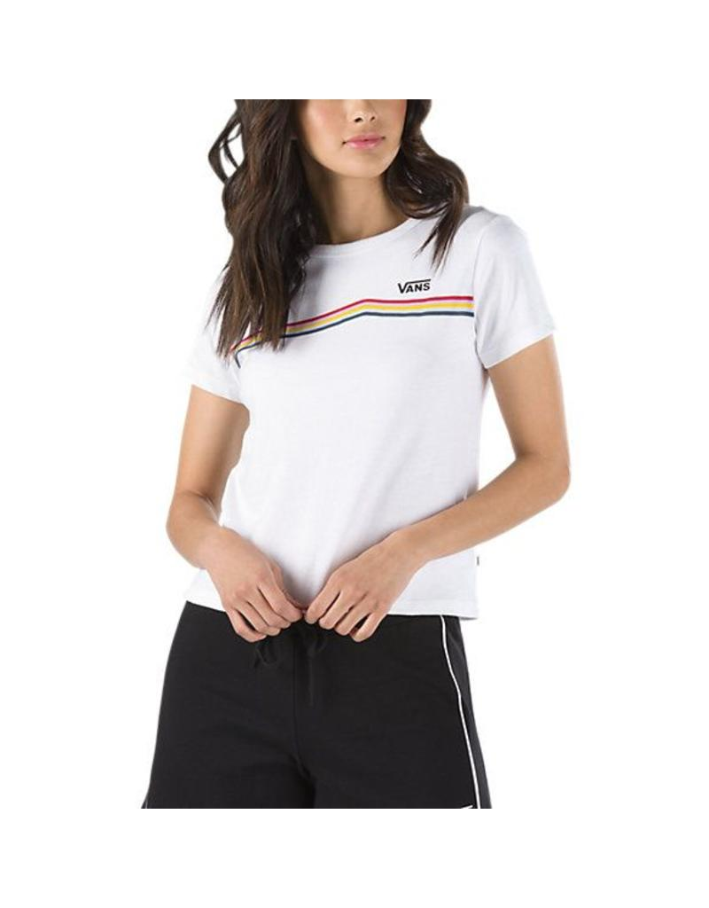 693f57207f4a Vans Rainbow Side Stripe T-Shirt - Shredz Shop