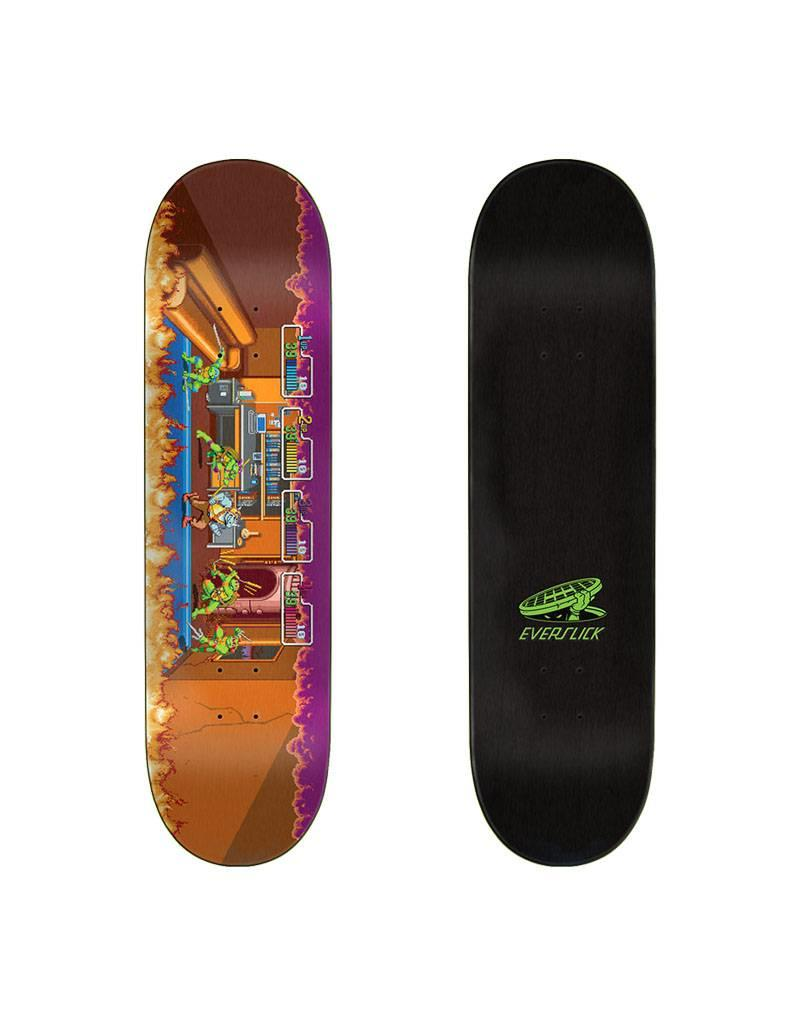 Santa Cruz X TMNT Arcade Everslick Deck 8.5x32.2