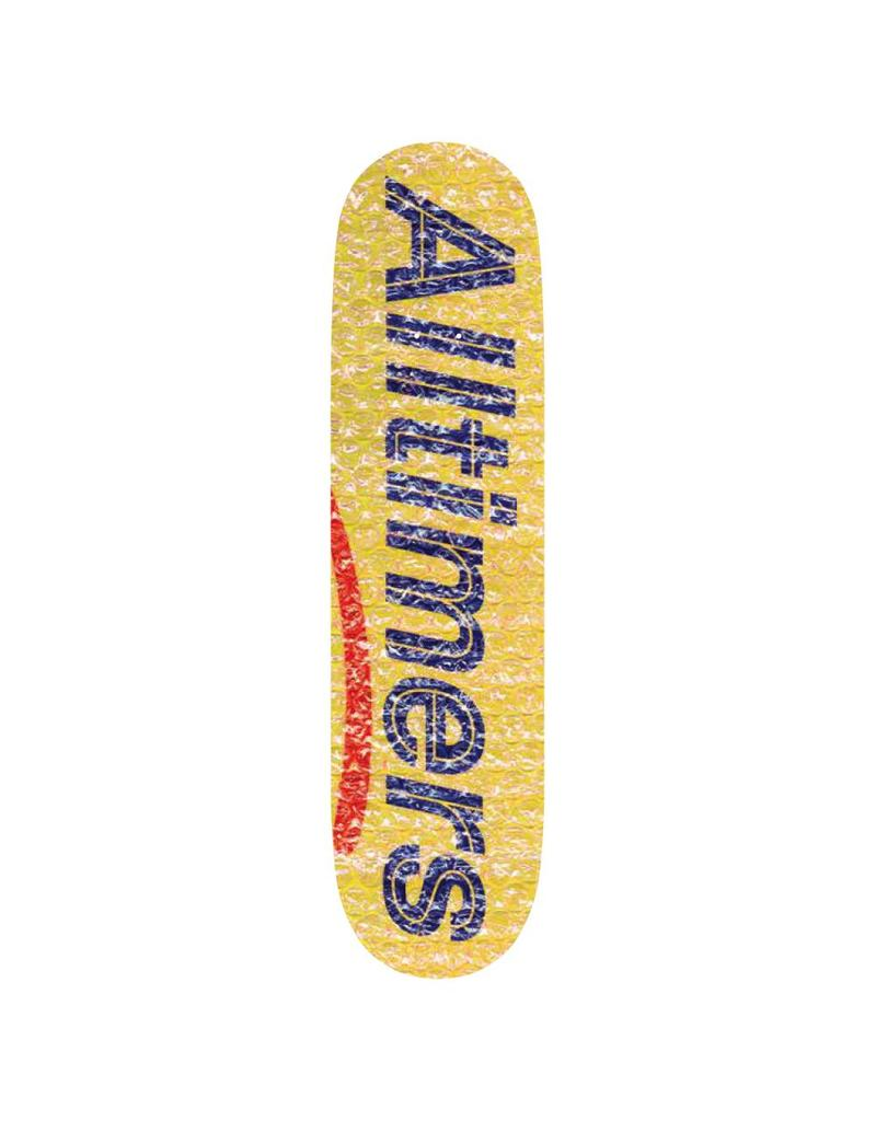Alltimers Alltimers Bubble Wrap Yellow Deck (8.1)