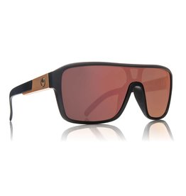 Dragon Remix Sunglasses (Matte Black/ Rose Gold Ion)