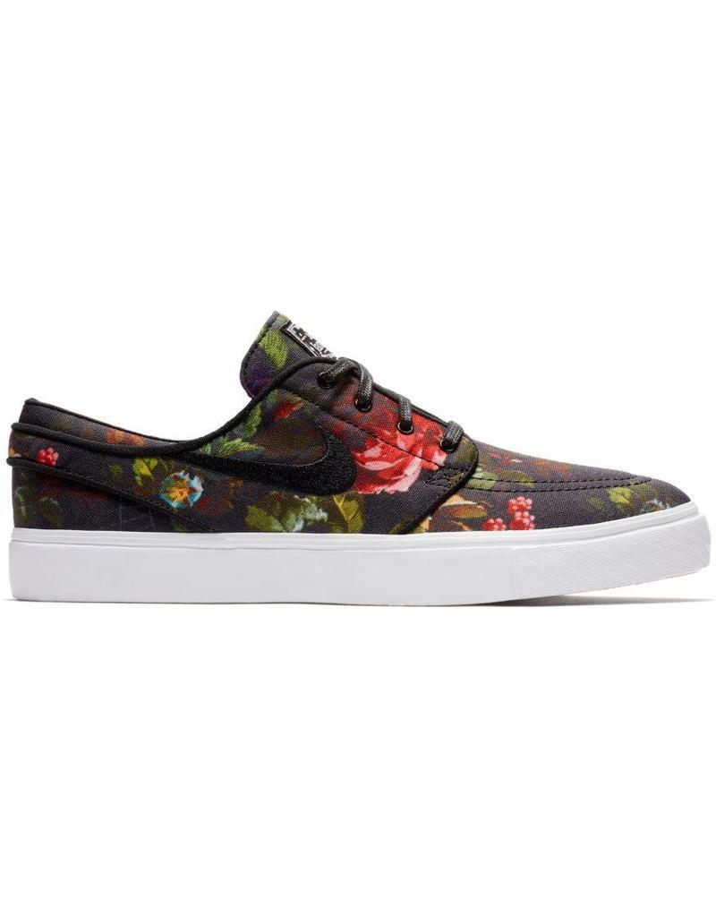 c0d70a3f1a8b37 Nike SB Janoski Shoes (floral canvas   black) - Shredz Shop