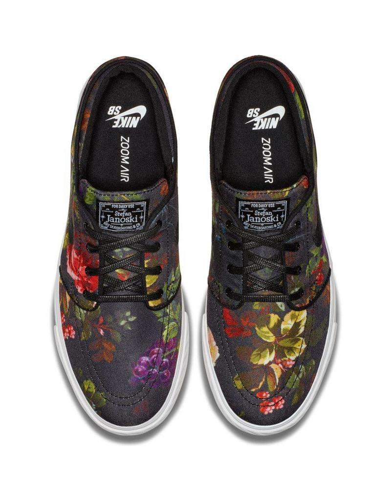Tener cuidado de comprar bien descubre las últimas tendencias Nike SB Janoski Shoes (floral canvas / black) - Shredz Shop