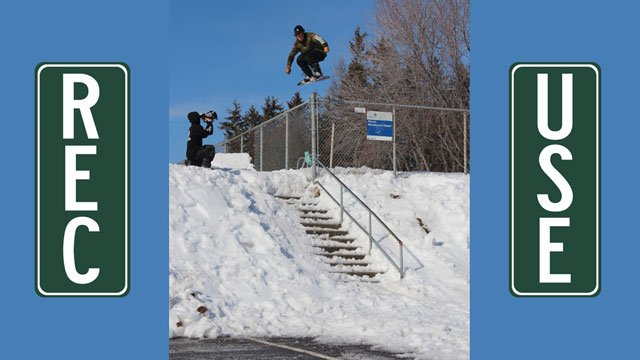 "SRD ""Recreational Use"" Snowboarding Video"