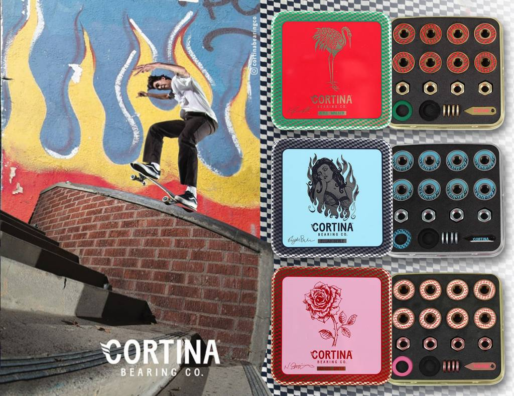 Shredz Welcomes Cortina Bearings