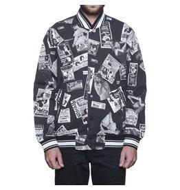 Huf Huf Peep Show Varsity Jacket