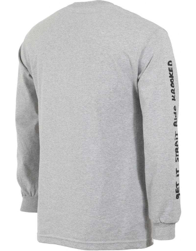 Krooked Krooked Stock Straight Eyes L/S T-Shirt