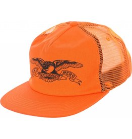 Anti Hero Anti Hero Basic Eagle Trucker Hat (orange/black)