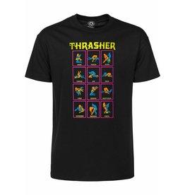 Thrasher Thrasher Black Light T-Shirt