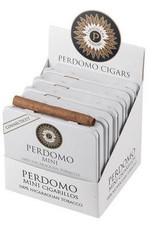 PERDOMO PERDOMO MINI CIGARILLOS CONNECTICUT WHITE TIN SINGLE