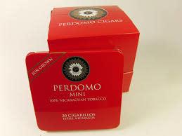 PERDOMO PERDOMO MINI CIGARILLOS SUNGROWN TIN SINGLE