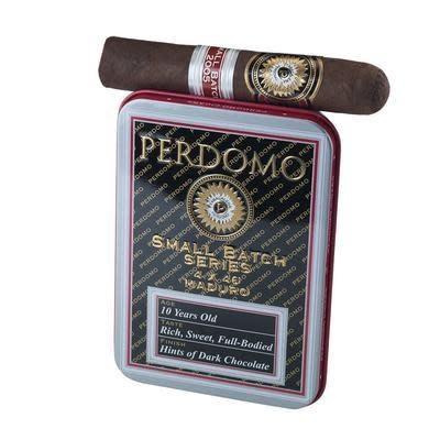 PERDOMO PERDOMO SMALL BATCH MADURO 4X45 4CT. TIN 5CT. BOX