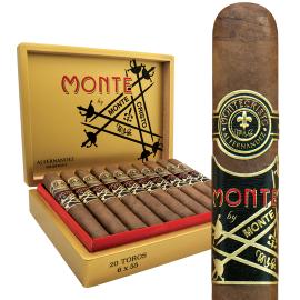 Montecristo MONTE BY MONTECRISTO AJ FERNANDEZ NICARAGUA BELICOSO 20CT. BOX