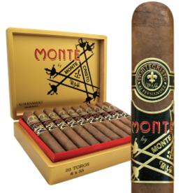 Montecristo MONTE BY MONTECRISTO AJ FERNANDEZ NICARAGUA TORO 6X55 20CT. BOX