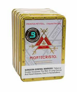 Montecristo MONTECRISTO WHITE PRONTOS PETITES 6CT. TIN single