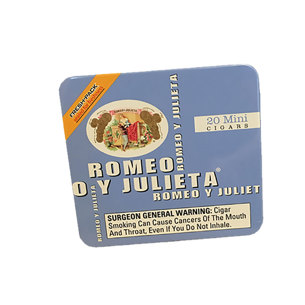 Romeo y Julieta RYJ BLUE FRESH PACK MINI SINGLE