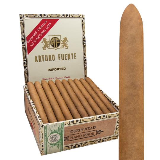 Arturo Fuente AF CURLY HEAD NATURAL 40CT BOX