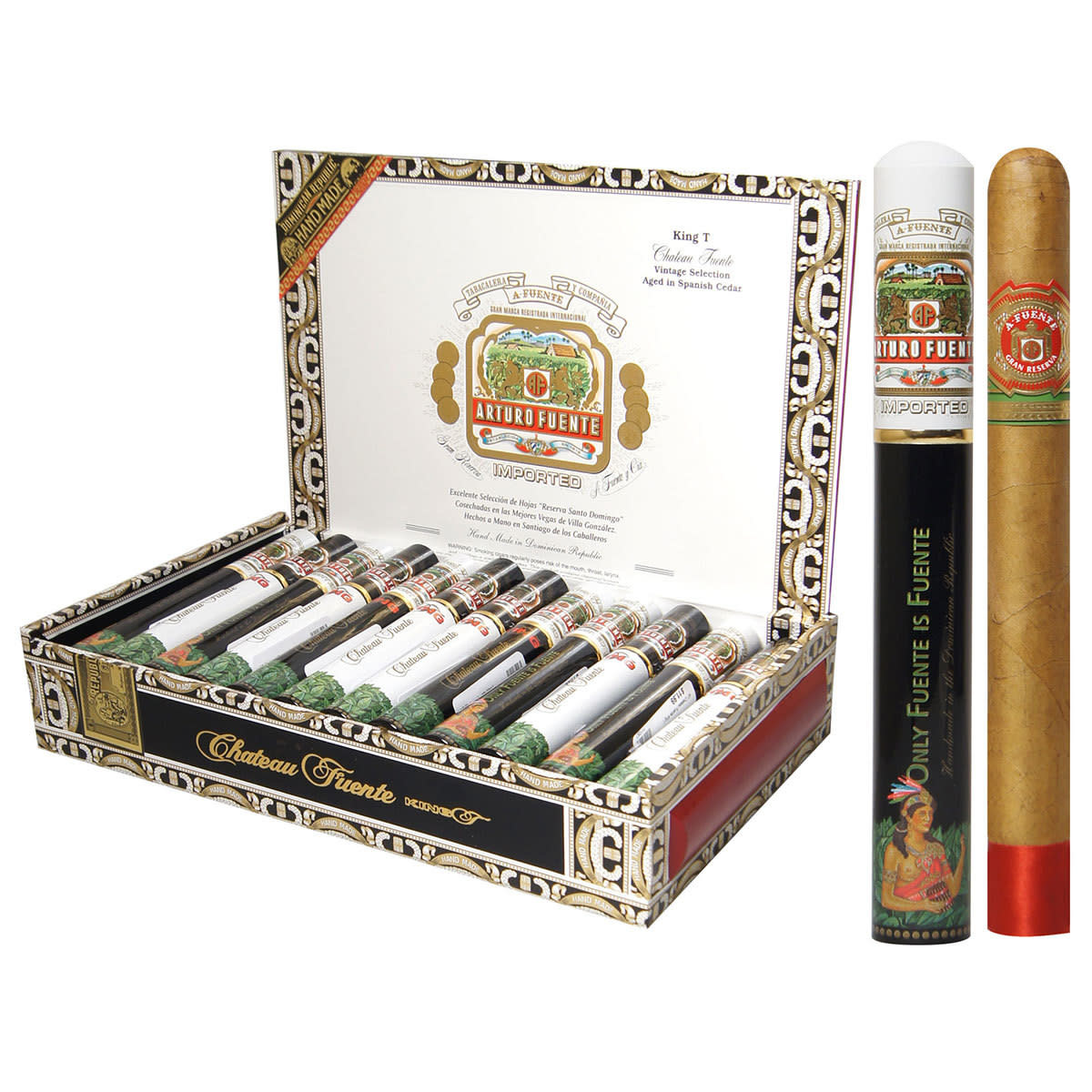 Arturo Fuente AF KING T BLACK NATURAL SINGLE