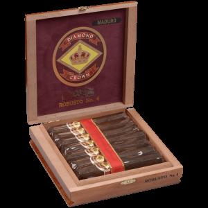 J.C. NEWMAN DIAMOND CROWN MADURO FIGURADO #6 15CT BOX
