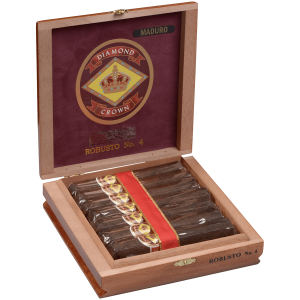 J.C. NEWMAN DIAMOND CROWN MADURO ROBUSTO #3 15CT BOX